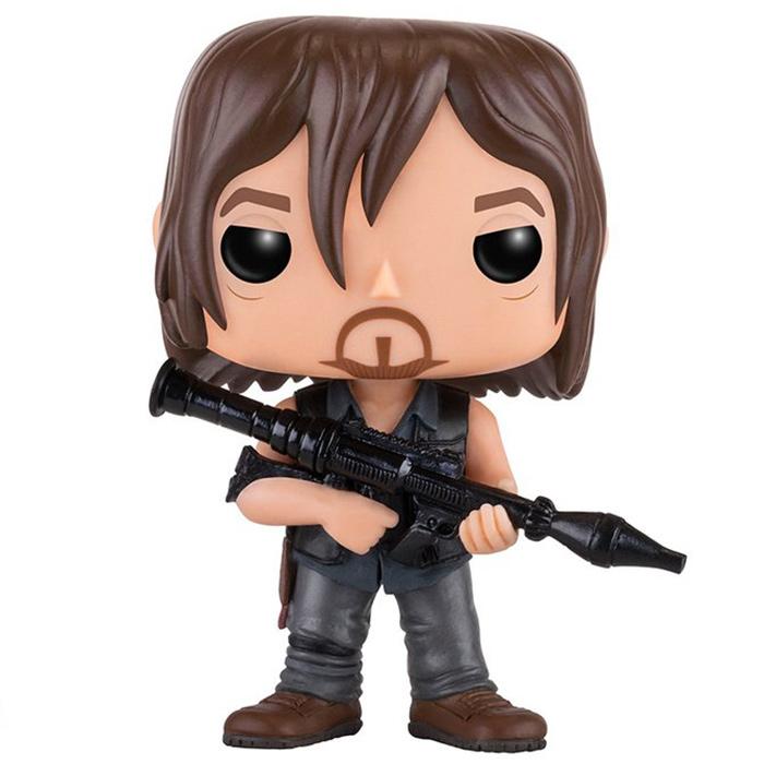 Funko Pop TV-The Walking Dead #391 Daryl Dixon avec lance-roquette