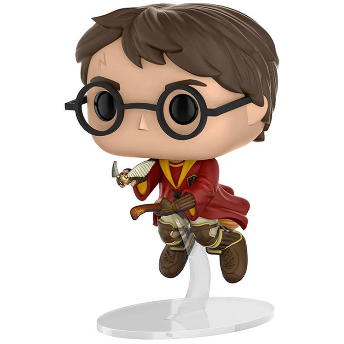 Figurine Harry Potter On Broom Harry Potter Funko Pop