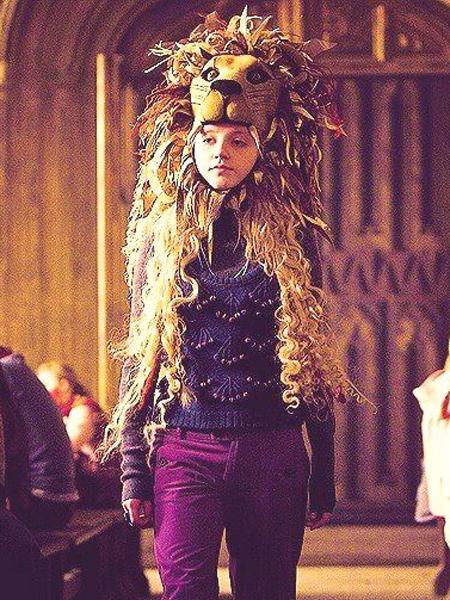 Figurine Luna Lovegood Lion Mask (Harry Potter) 47