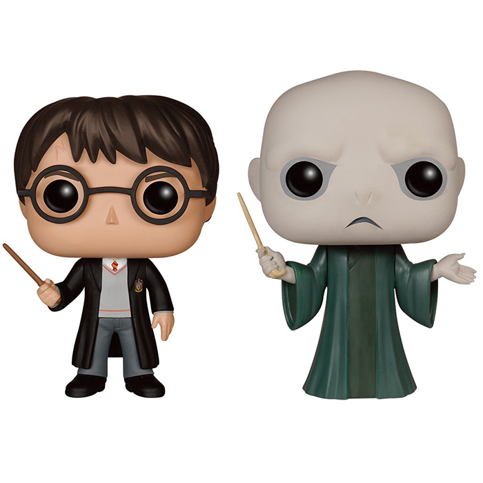 Funko Pop Figurines Harry Potter Et Voldemort Harry Potter