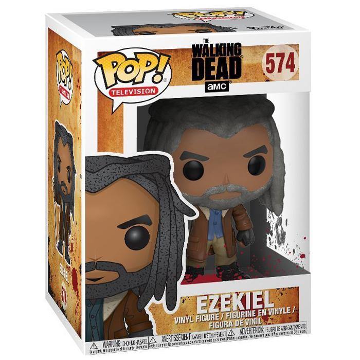 "The Walking Dead /""EZEKIEL Vinyle personnage 574/"" Funko POP"