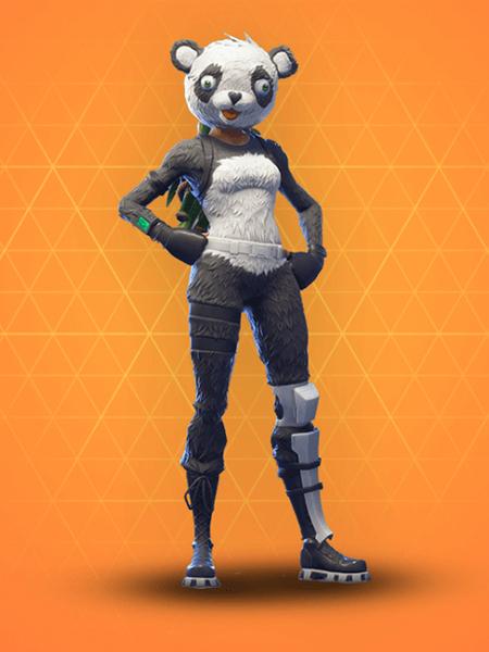 Figurine p a n d a team leader fortnite 515 funko pop - Panda team leader costume ...