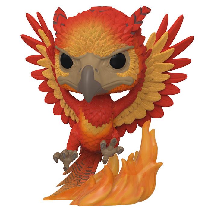 Funko Pop Figurine Fawkes Flocked Harry Potter 84