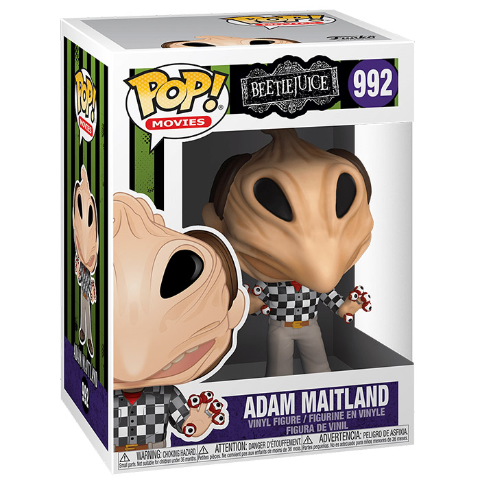 Figurine Adam Maitland transformed (Beetlejuice)