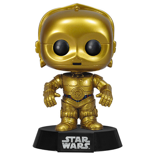 figurine c 3po star wars funko pop. Black Bedroom Furniture Sets. Home Design Ideas