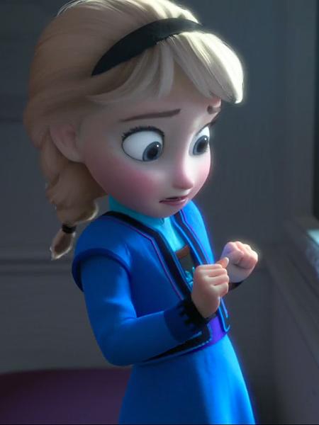 Figurine young elsa la reine des neiges funko pop - La reine des neiges petite ...