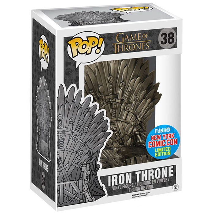 Figurine iron throne game of thrones funko pop - Game of thrones objet ...
