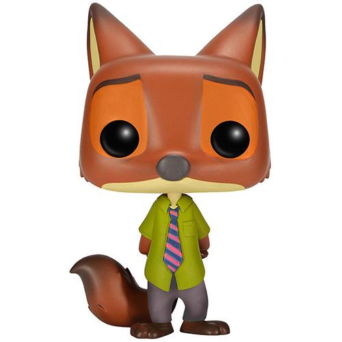 Figurine Nick Wilde Zootopia Funko Pop