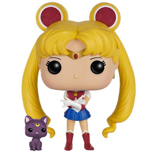 Figurine Sailor Moon Et Luna Sailor Moon 89 Funko Pop