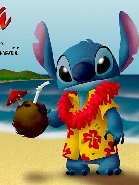 Figurine Aloha Stitch Lilo Et Stitch Funko Pop